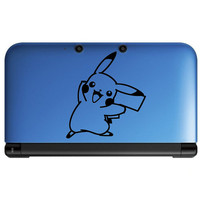 nintendo 3ds / 3ds xl / ds lite decal  - Pokemon Decal Pikachu double