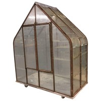 Small French Antique Greenhouse, 1920s
