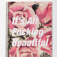Urban Outfitters - Spiral Notebook - Beautiful