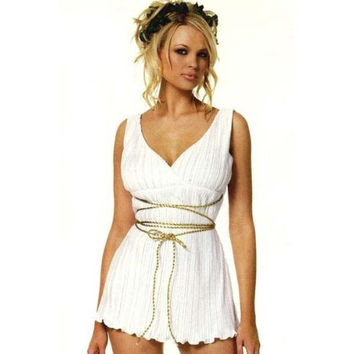 Leg Avenue Womens Greek Goddess Halloween Party Dress Costume