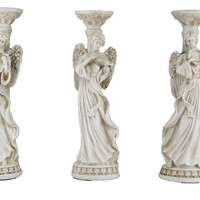 Angel Trio Candle Holders
