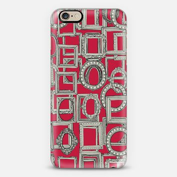 picture frames aplenty red iPhone 6s case by Sharon Turner   Casetify