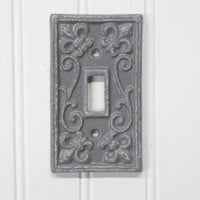 Single Light Switch Cover- Single Metal Switch Plate