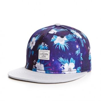 CAYLER & SONS 2-Tone-Spacedout Cap - floral galaxy / grey