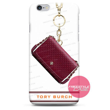 Tory Burch Marion Embossed Shrunken iPhone Case 3, 4, 5, 6 Cover