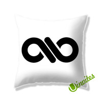 Infinite Logo Square Pillow Cover