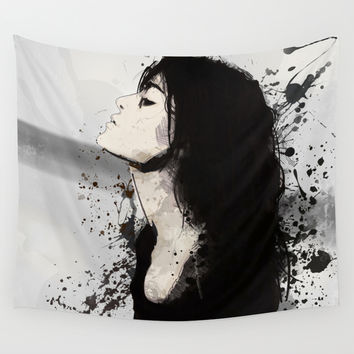 Drift Wall Tapestry by Allison Reich