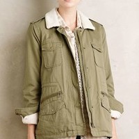 Velvet by Graham and Spencer Norland Anorak in Moss Size: