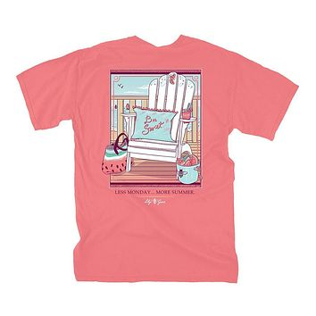 Watermelon Chair Tee by Lily Grace