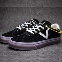 VANS LQQK new fashion sports couple shoe Black