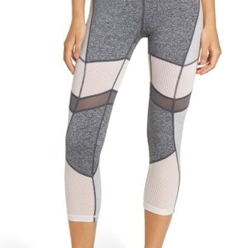 Zella Turning Point High Waist Crop Leggings | Nordstrom