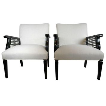 Pre-owned Vintage Club Chairs - A Pair