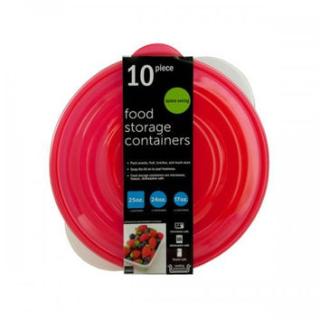 Round Nesting Food Storage Containers (pack of 2)