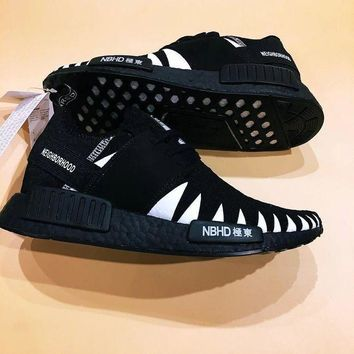 VLXZRBC Adidas NMD x NBHD Knitted Face Shoes Sneakers