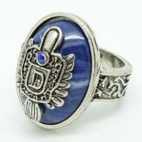 Retro Damon's Ring same style from Vampire Diaries Gothic Ring Punck Rock Ring