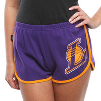 Los Angeles Lakers Ladies Legendary Shorts - Purple
