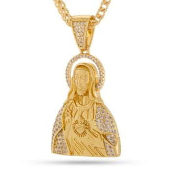 The Sacred Heart Jesus Necklace