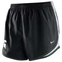 Michigan State Spartans Nike Women's Tempo Shorts – Black