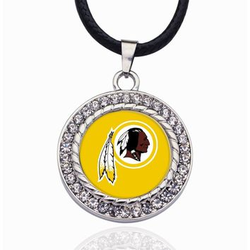 Wimpy kid Washington Redskins Pendant Necklace Best Gift for /Women/Girl/Men/Mom Pendant Necklaces For Mother's Day Gifts