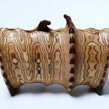 handbag wooden clutch by nadabula on Etsy
