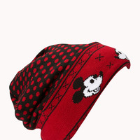 Dotted Mickey Mouse Beanie
