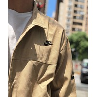 NIKE 2019 new trend fashion men and women tooling retro jacket khaki