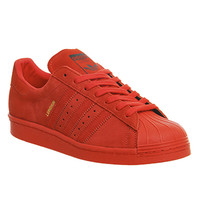 Adidas Superstar 80s City Pack Red London - Unisex Sports