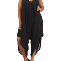 Plus Size Aztec Embroidered Straps Chiffon Playsuit, Plus Size Clothing, Club Wear, Dresses, Tops, Sexy Trendy Plus Size Women Clothes