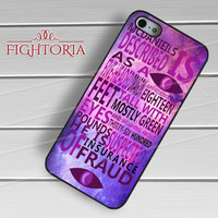 Welcome to Night Vale Movie Quotes -EnLs for iPhone 6S case, iPhone 5s case, iPhone 6 case, iPhone 4S, Samsung S6 Edge