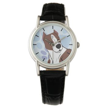 Father and Son Dogs Wristwatch