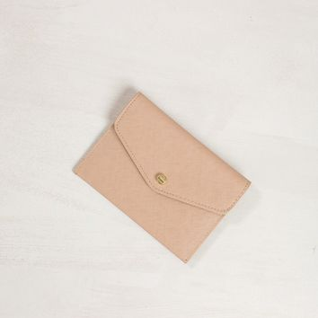 Lindy Taupe Envelope Wallet