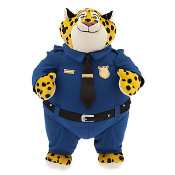 Clawhauser Plush - Zootopia - Medium - 13 1/2''