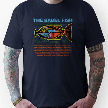 Hitchhikers Guide to the Galaxy - Babel FIsh Unisex T-Shirt