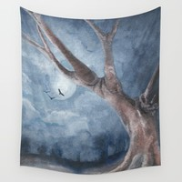 The Tree Wall Tapestry by marcogonzalez
