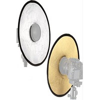 "12"" Inch Portable Round Camera Lens Beauty Reflector PRBR2"