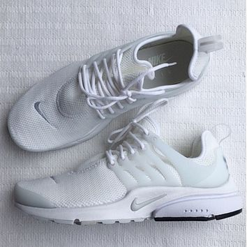 Women's Nike Air Presto White Sneakers Sport Shoes