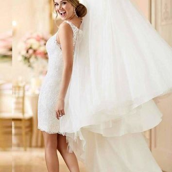 Adeline Grace Convertible Wedding Gown