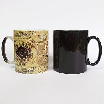Harry Potter Color Changing Mug Harry Potter Quote Cup Magic Mug Marauders Map Coffee Mug Magical Mug Marauder's Map Harry Potter Tea Mug