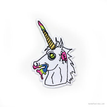 Zombie Unicorn Patch