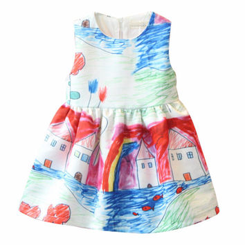 School Days Girls Dress