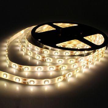 5M /Pack 2835 SMD More Brighter Than 3528 5050 SMD LED Strip light DC 12V 60LEDs/M Indoor Decorative waterproof Tape