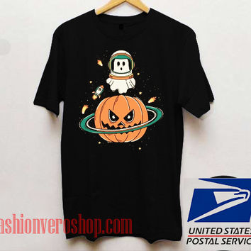 Pumpkin Planet Unisex adult T shirt