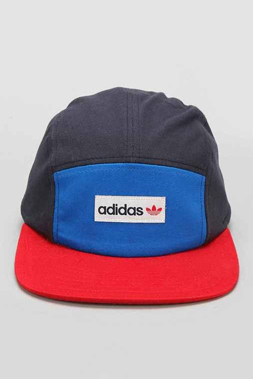 33821e6cdaf adidas Originals Odd 5-Panel Hat- Blue from Urban Outfitters