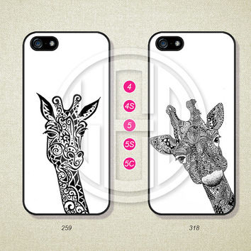 Phone Cases, iPhone 5S Case, iPhone 5 Case, iPhone 5C Case, iPhone 4 case, iPhone 4S case, Deer, Case For iPhone --L15