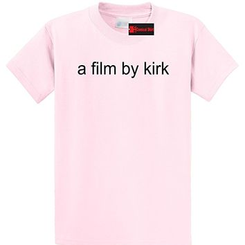 Men's A Film By Kirk Funny Tee T-Shirt