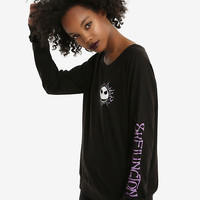The Nightmare Before Christmas Jack Skellington Girls Long-Sleeve T-Shirt
