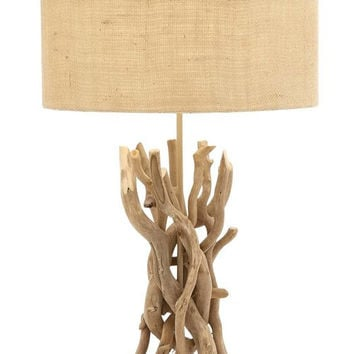 Medium Driftwood Table Lamp