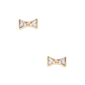 Marc by Marc Jacobs Jewelry Women's Bow Stud Earrings - Gold