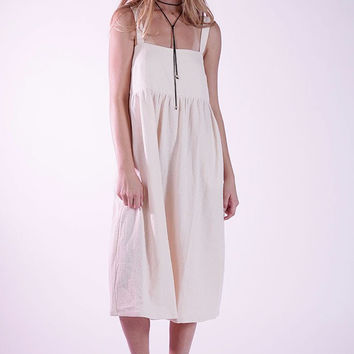 Knot Sisters Femme Dress - Natural