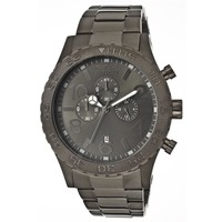 Invicta 1272 Men's Black Ion Plated Stainless Steel Black Dial Chronograph Watch